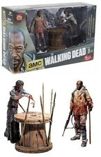 The Walking Dead TV Series Morgan with Impaled Walker 2 Figure Pack Series 8