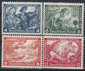 Nazi-Germany-3rd-Reich-4-Wagner-Issues-MINT