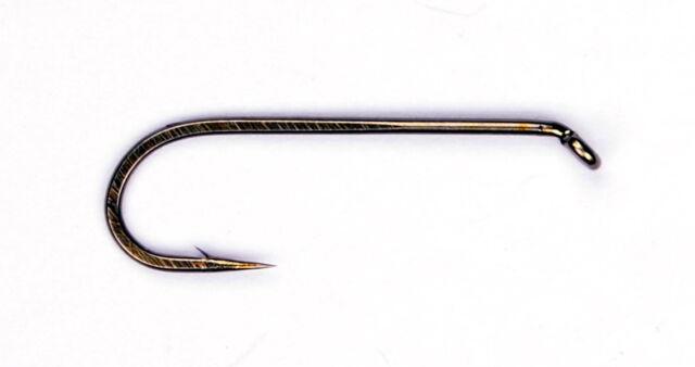 equivalent to Daiichi 1730 Erleng/'s E33 Bent Shank Nymph Fly Tying Hooks