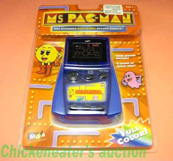 MGA Electrónico Atari Video Juego Color FX2 Miss Pacman Nuevo