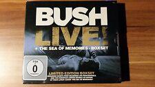 Bush - Live!+The Sea Of Memories (2013) DoCD+DVD (Neu+OVP)