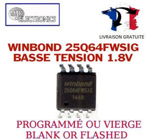 Dettagli su W25Q64FWSSIG W25Q64FWSIG 25Q64FWSSIG 25Q64FWSIG W25Q64 25Q64  SOP8