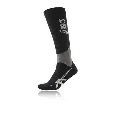 Asics Mens Recovery Sock Black Sports Running Breathable Lightweight