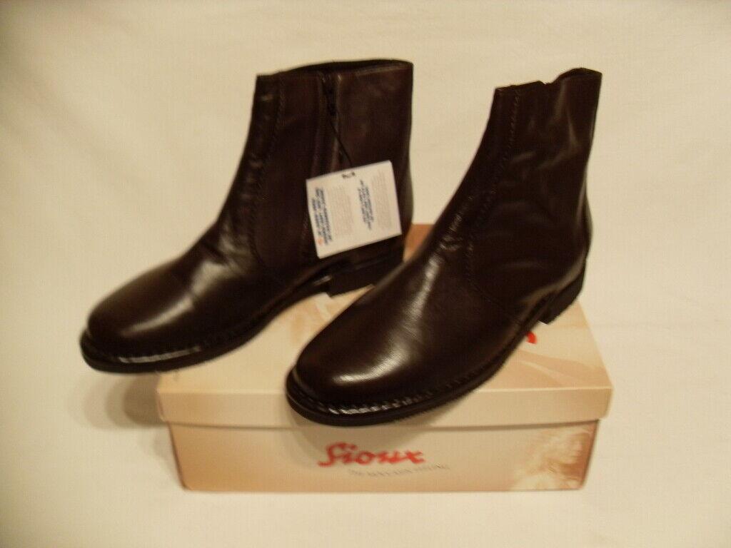 NEU     SIOUX WARTH 27005 Stiefelette Stiefel Größe 45   UK  10,5  statt 150,-