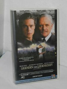 Legenden-der-Leidenschaft-Bratt-Pitt-Anthony-Hopkins-Quinn-VHS-Kassette