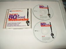 Various Artists - 80's Soul Weekender (2001) 2 CD - UK FREE POST