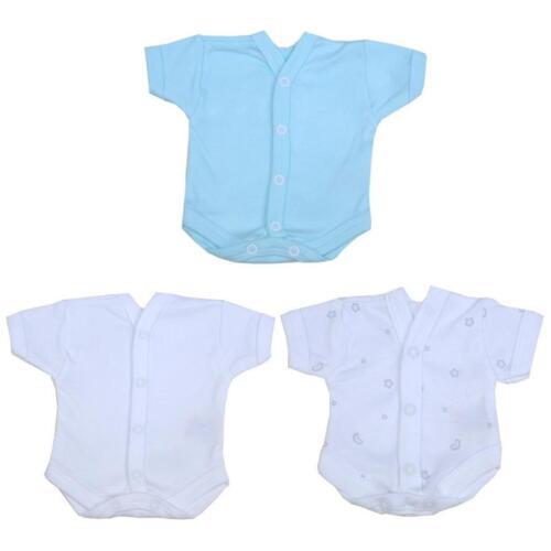 BabyPrem Vorzeitige Baby-Kleidung Ein Neugeborenen-Intensiv Pflege Vest 28-50cm
