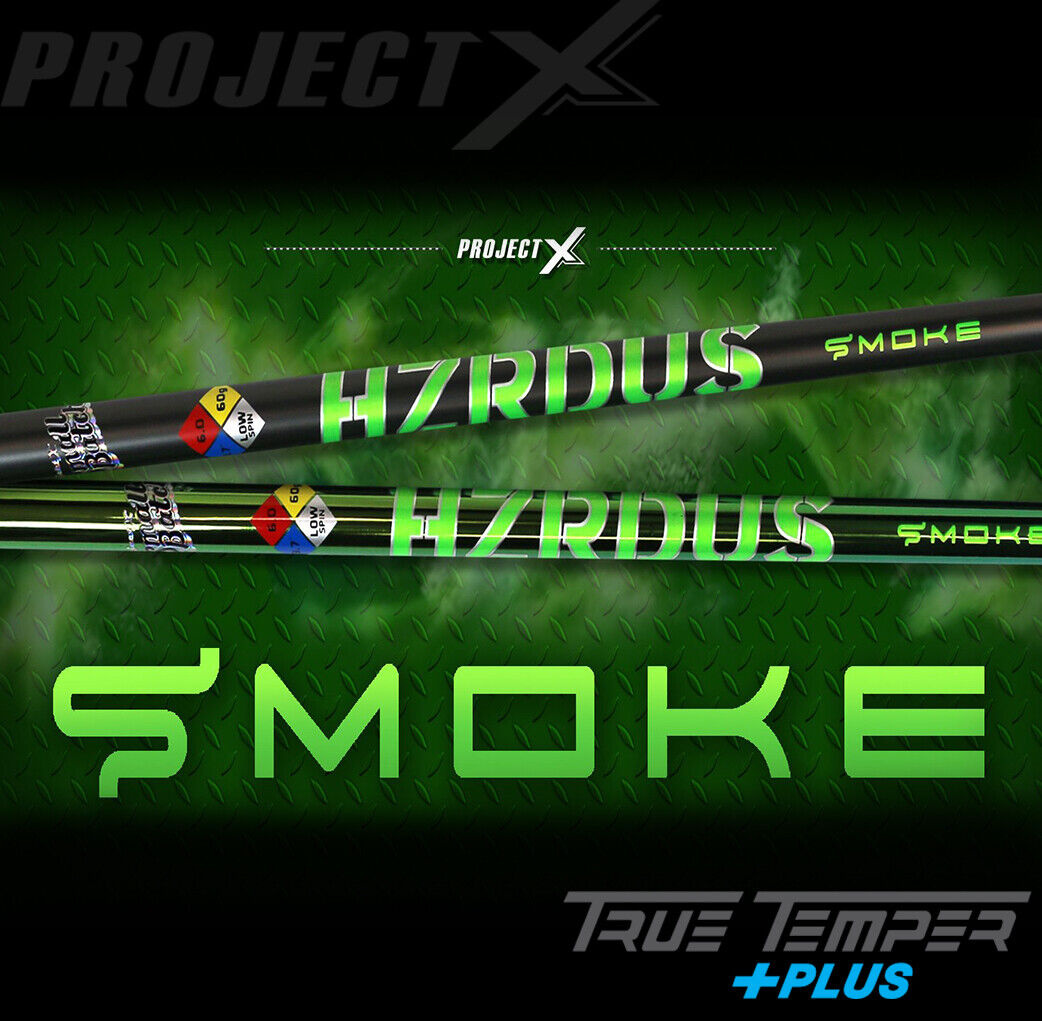 Nuevo Tour Issue sin cortar hzrdus Pequeño Lote verde Hulk humo 70 6.5 Project X PVD