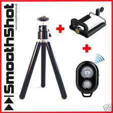 COMPACT CAMERA TRIPOD HANDLE STAND HOLDER BLUETOOTH REMOTE PHONE/IPHONE/GALAXY