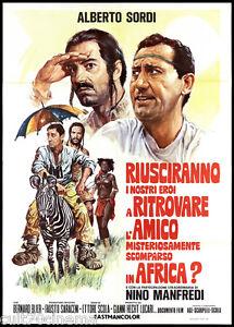 RIUSCIRANNO-I-NOSTRI-EROI-IN-AFRICA-MANIFESTO-CINEMA-SORDI-SCOLA-POSTER-2F