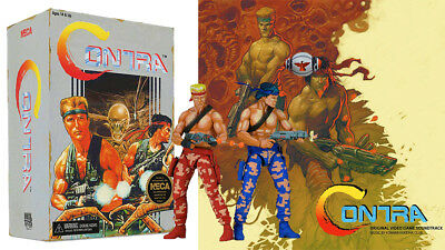 Contra Bill Amp Lance Action Figures Bundle With Contra