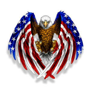Bald-Eagle-USA-American-Flag-Sticker-Car-Auto-Laptop-Window-Decal-Bumper-Cooler