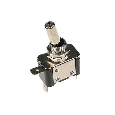 Illuminated LED Toggle Flick Switch 25A Amp 12V On/Off