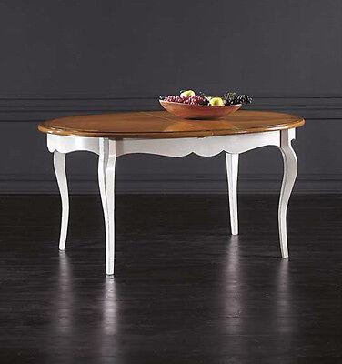 Mobile tavolo ovale moderno massello da cucina salotto for Mobile da soggiorno moderno