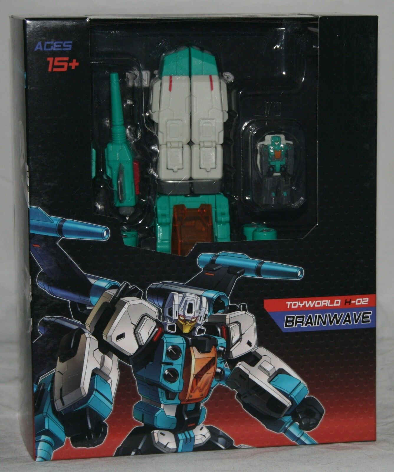 Transformers toyworld tw-h02 Brainwave MISB