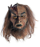 Mens Calibos Mask W/ Hair Adult Full Overhead Clash Of Titans Rubies 68307