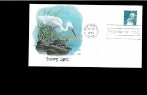 2003-FDC-Snowy-Egret-New-York-NY