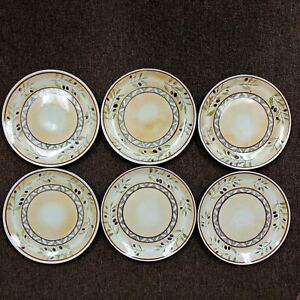 6-Plate-Set-The-Sakura-Table-Les-Olives-by-Gracey-Knight-Dinner-Plates