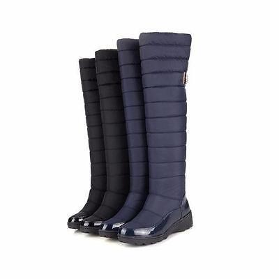 Women's Winter Long Snow Boots Over