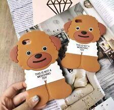 Uk Seller--Moschino Logo Teddy Dog iPhone 6 6S 6Plus 6sPlus Case-New In Box