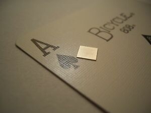Thinnest Neodymium Magnets! Super Thin!  SQUARE 5mm x 5 x 0.25mm (x10) N52 0.25