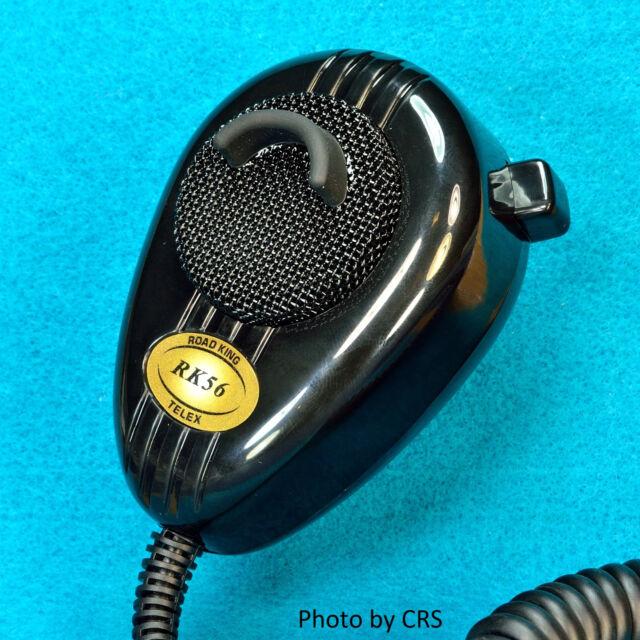 RoadKing RK56B 4-pin Dynamic Noise Canceling CB Microphone Boxed