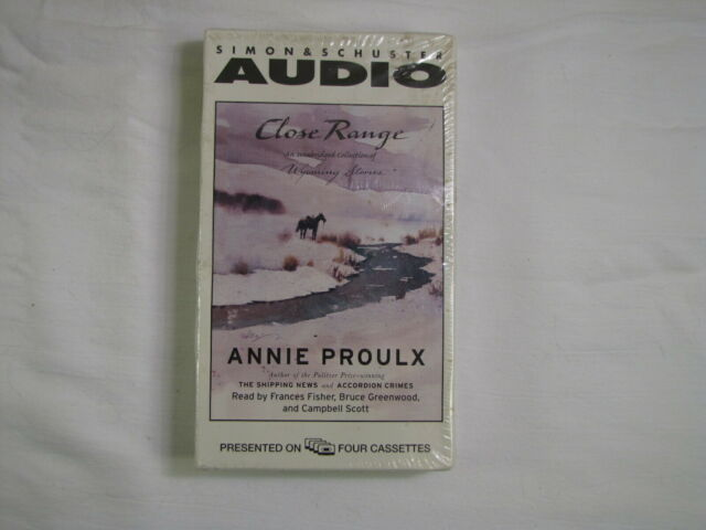 Wyoming Stories: Close Range: Wyoming Stories by Annie Proulx  (New, sealed)