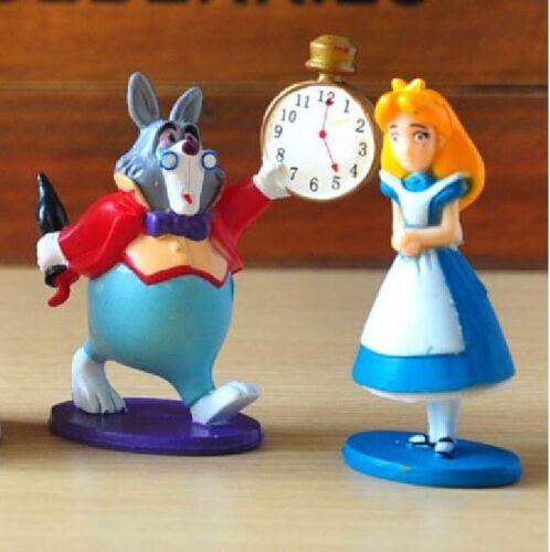 figurines Alice aux pays des merveilles cake topper déco gateau