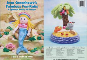 Fabulous Fun-Knits Tricoter livre JEAN GREENHOWE Modèles Dans Une Variété De Designs