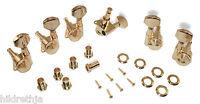 Tuning Machines Locking Custom Shop 3 Plus 3 Gold Bitterroot 080230gd