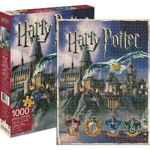 Harry Potter Hogwarts 1000 Pieces Puzzle (Damaged Packaging) House Jigsaw