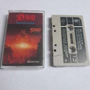 DIO-THE-LAST-IN-LINE-CASSETTE-TAPE-1984-GREEN-PAPER-LABEL-VERTIGO-UK
