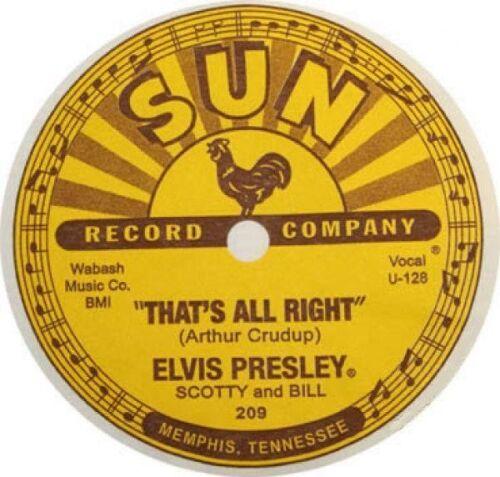Record Label # 17-8 x 10 Tee Shirt Iron On Transfer Elvis 78