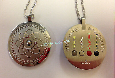 New 4 in 1 Healing Powerful Quantum Bio Scalar Energy Pendant Necklace Balance