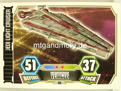 Jedi Light Cruiser #065 Force Attax série 3
