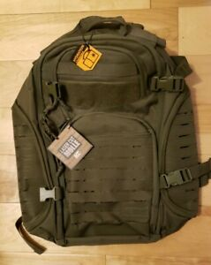 Highland-Tactical-Roger-OD-Green-Backpack-with-Laser-Cut-Molle-Webbing