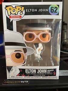Funko Pop Rocks Brand damaged Box  Elton John Figure # 62