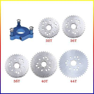 """38T Sprocket 1.5/"""" Red Adapter For 415 Chain 60cc 66cc 80cc Motorized Bike"""