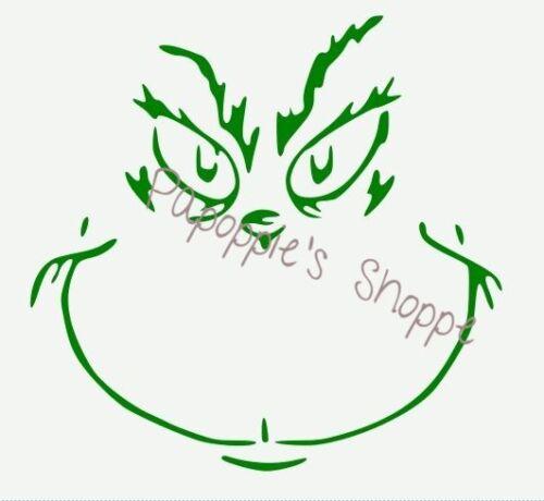 UU. Plantilla Stencil el Grinch Cara Navidad que tu elijas tamaño Envío Gratis a EE