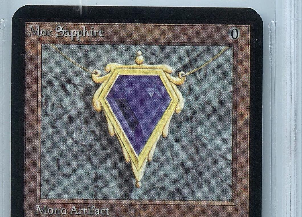 MTG Alpha Mox Sapphire BGS 8.5 NM-MT+ Magic WOTC WOTC WOTC Card 7589 3518a9