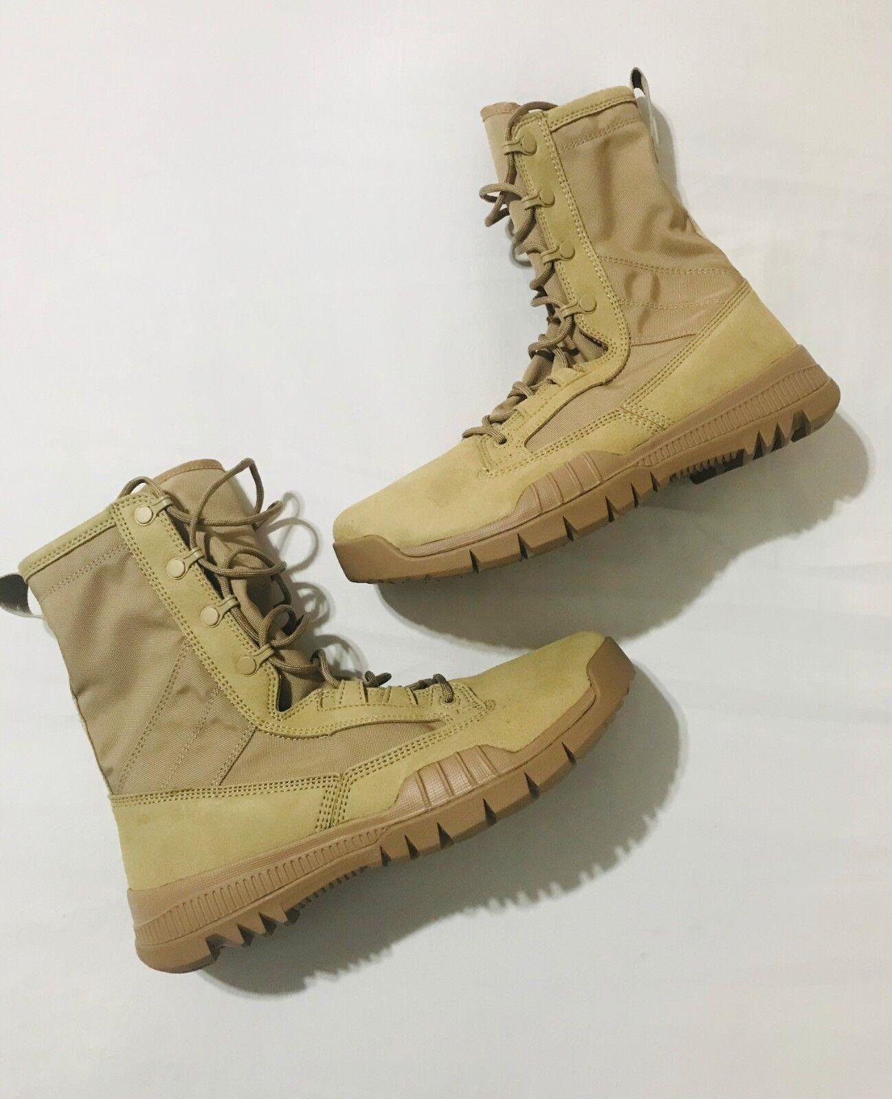 Nike Nike Nike SFB Field 8  Mens Tactical Boots Sz 7.5 British Khaki Brown 631371- 220 814f21