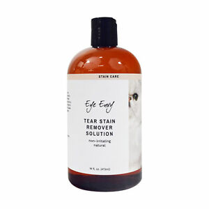 Eye Envy Tear Stain Remover for Cats & Kittens All Natural Liquid Solution 16 oz