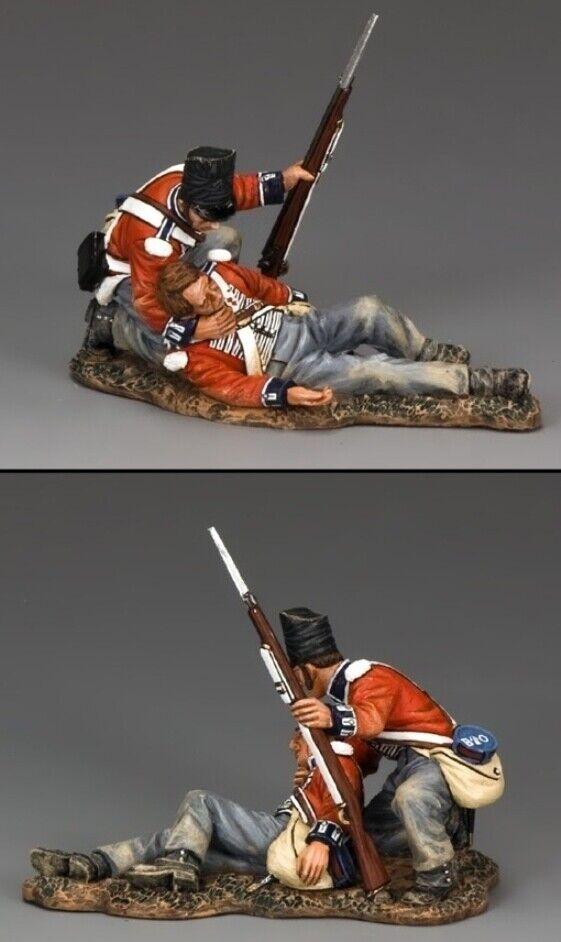 King & Land die Age Of Napoleon NA290 Coldstream Wachen Helfende Verwundet