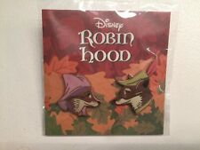 Disney Robin Hood and Maid Marion Enamel Pin Set Matt Taylor Mondo Valentine's
