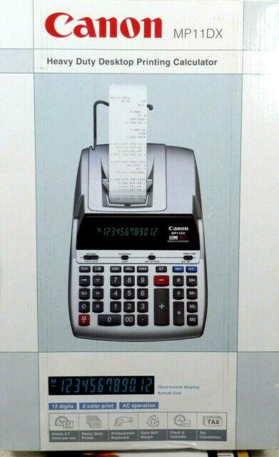 Canon Calculator Ribbon Canon MP 11DX MP11DX MP-11DX