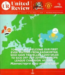 MANCHESTER-UNITED-V-ASTANA-EUROPA-CUP-2019-20