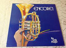 "UP WITH PEOPLE (LP) ""ENCORE!"" [*RARE* 1981 JAZZ VINYL BELGIUM  ""JIM BASTIN""] M-"