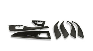 Bmw M Performance Interior Trim Set 7pcs Carbon Alcantara Genuine 1