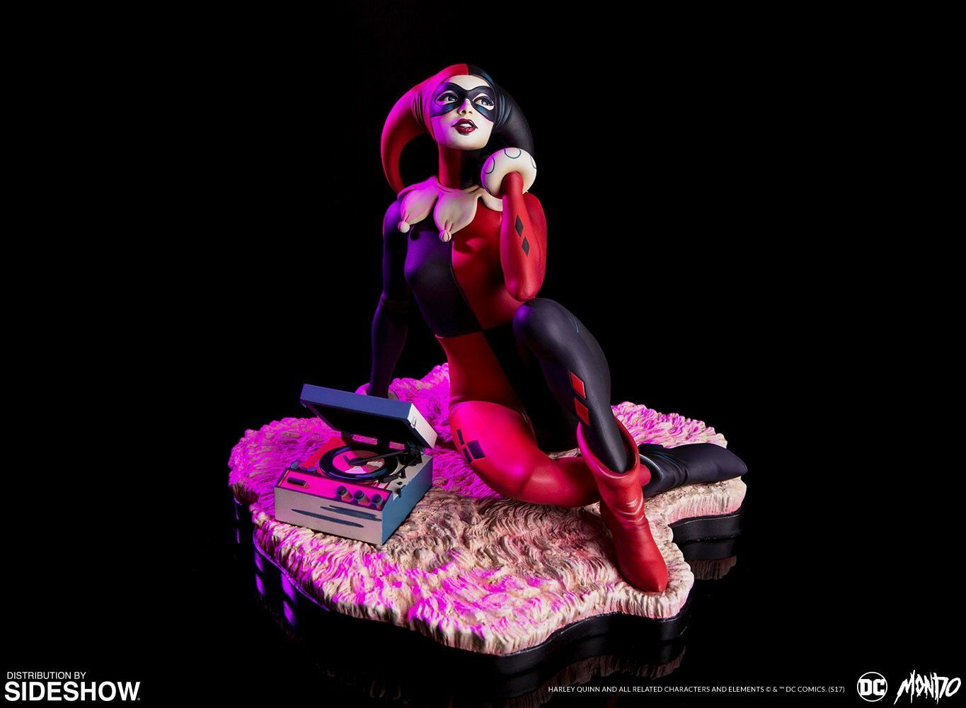 SIDESHOW Harley Quinn Waiting for My J Man Standard Statue MINT NEW