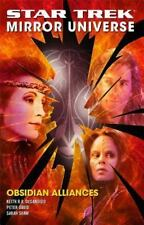 Star Trek: Obsidian Alliances by Peter David, Sarah Shaw and Keith R. A. DeCandido (2007, Paperback)